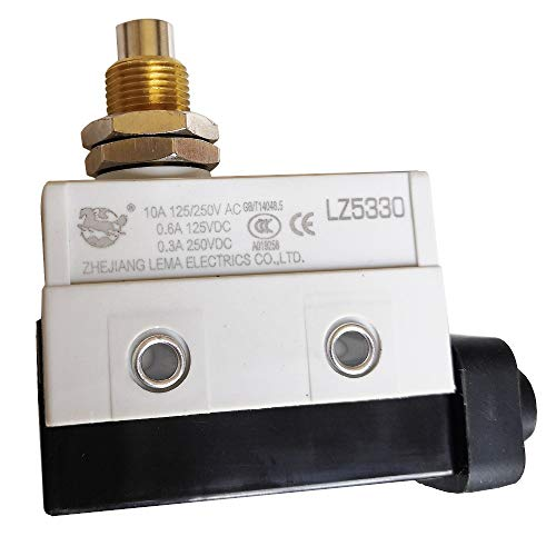 LZ5330 10A 125/250V IP65 Impermeable 1NO 1NC Interruptores de Limitación Micro Interruptor Finales de Carrera para Equipos de Producción Maquinaria Automatización