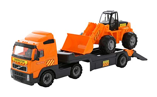 WADER POLESIE Pony camión con Remolque y 76x32x22cm Pala. 36803