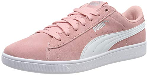 Puma Vikky V2, Zapatillas para Mujer - Rosa (Bridal Rose-Puma White-Puma Silver 08) - 37 EU