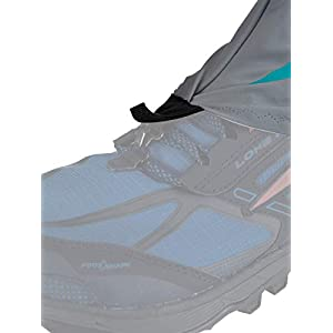 Altra Trail Gaiter Protective Shoe Covers, Grey/Teal, Small / Medium