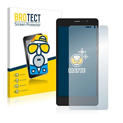 BROTECT 2X Entspiegelungs-Schutzfolie kompatibel mit Archos 55 Diamond Selfie Lite Bildschirmschutz-Folie Matt, Anti-Reflex, Anti-Fingerprint
