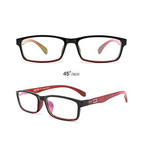 LGMO Lezen Bril Vrouwen, Automatische zoom HD pure titanium aanpassing ver en in de buurt van dual-use anti-blauwe leesbril