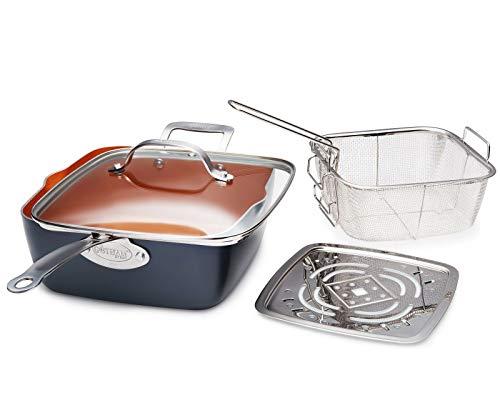 Nonstick 12 Piece Complete Kitchen Pots & Pans Cookware Set - NEW