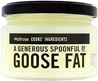Cooks' Ingredients Goose Fat Waitrose 200g - Pack of 2