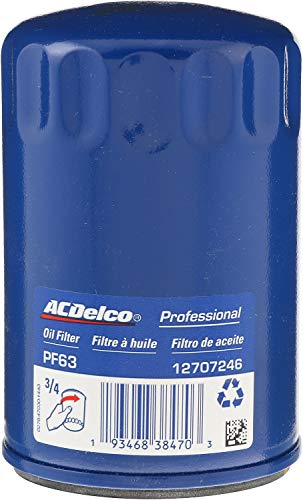ACDelco GM Original Equipment PF63F Durapack Engine Oil Filter (Pack of 12)