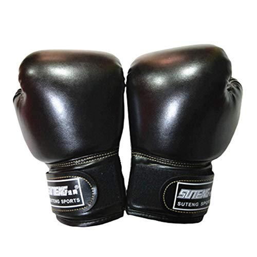 Kickboxen Handschuh Boxhandschuhe Frauen Kinder Boxhandschuhe Box Handschuh Herren Set Grappling Handschuhe Black,Child