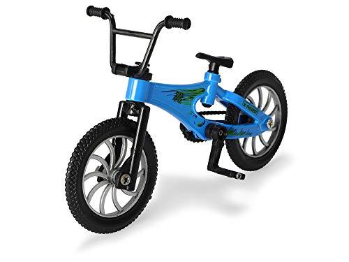 Dickie Toys 203341019 Stunt Bike, Tricks, Finger Fahrrad, Spielzeugfahrrad, 3-Sortiert, rot, grün, blau