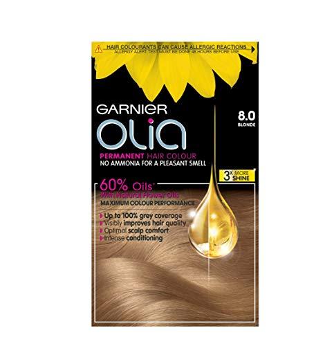 Garnier Olia Permanent Hair Color - Blonde 8.0