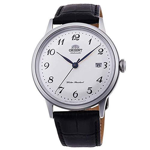 Orient Unisex Erwachsene Analog Automatik Uhr mit Edelstahl Armband RA-AC0003S10B