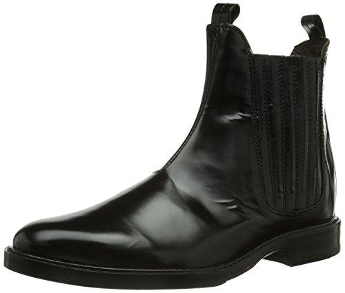 Hudson London Damen Tafler Chelsea Boots, Schwarz (Black), 38