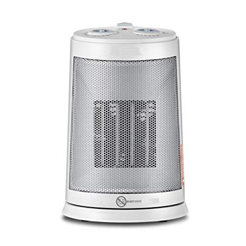 Calentador de Ventilador Eléctrico Portátil, Arma de fuego a la parrilla rotativa...