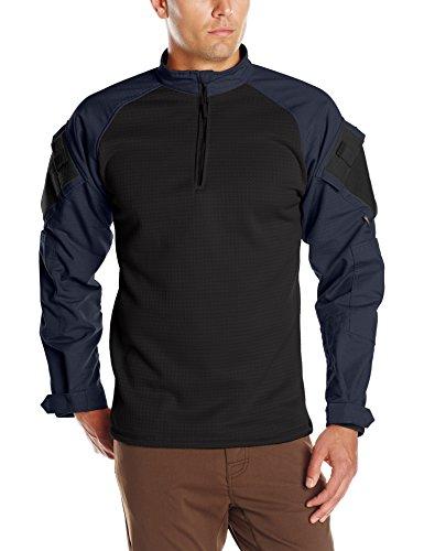 Tru-Spec T.r.u. Camicia da Combattimento Invernale con Zip 1/4, Uomo, 6940, Marina Militare, M