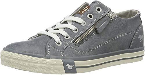 MUSTANG Damen 1146-302-875 Low-top Sneakers, Blau (875 Sky), 38 EU