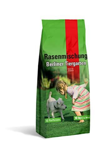 A&G 10Kg Rasensamen Berliner Tiergarten Rasen Grassamen Nachsaat Rasensaat Saatgut