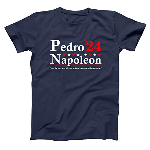 Pedro Napoleon 2024 Election Vote Mens Shirt Small Navy
