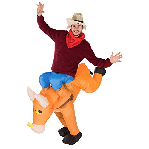 Bodysocks® Aufblasbares Bulle Kostüm für Erwachsene