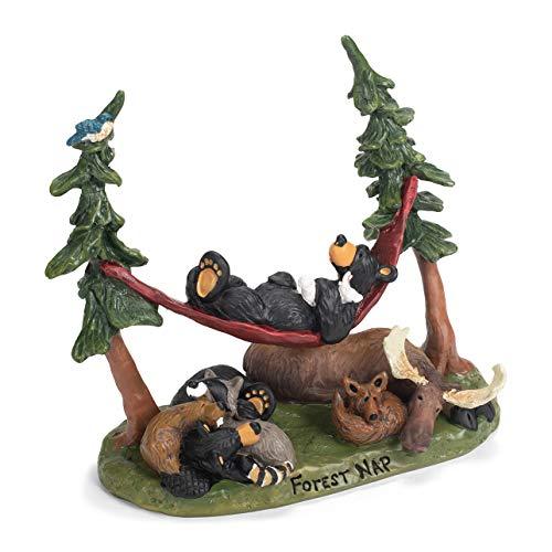 DEMDACO Big Sky Bearfoots Bears Forest Nap Figurine