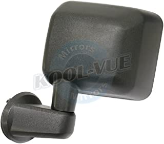 2007, 2008 Jeep Wrangler Unlimited Rubicon Driver Side Mirror Head Assembly - Manual