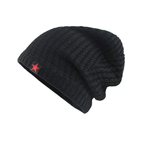 Saingace(TM) Slouch Beanie Mütze Winter Strickmützen | Dicke Weiche Stretch Warme Wintermütze Long Beanie für Herren und Damen
