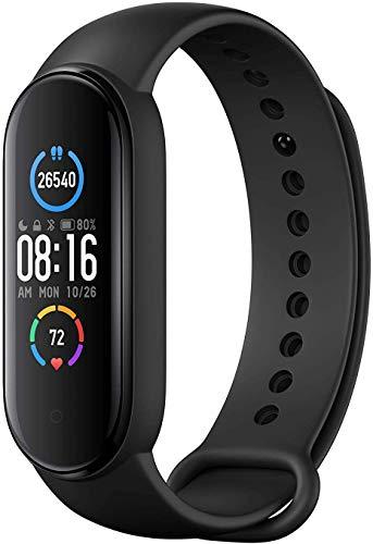 PXFD - Braccialetto fitness con monitoraggio dell'attività, orologio fitness tracker con notifica SMS, per donne, uomini e bambini
