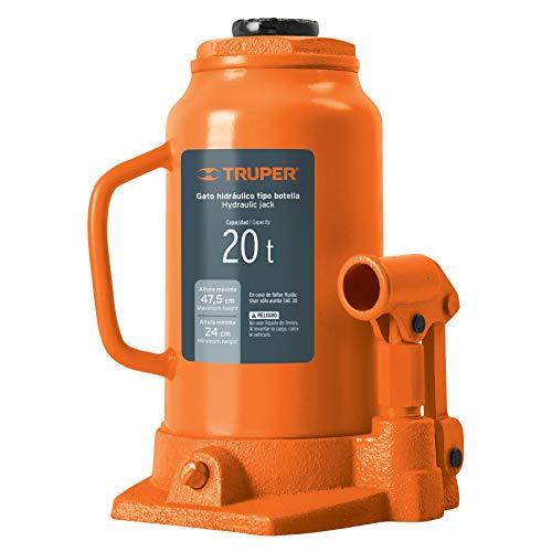 TRUPER GAT-20 20-Ton Hydraulic Bottle Jacks 18 11/16