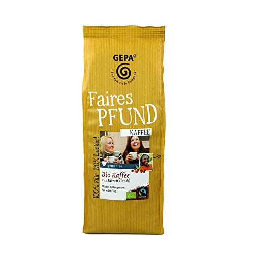 Gepa - Bio Faires Pfund Kaffee Fairtrade - 500g