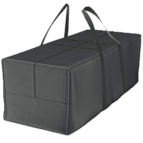 Bolsa de almacenamiento Deluxe XXL (175 x 80 x 60 cm) y funda protectora para cojines de jardín, de poliéster 420D