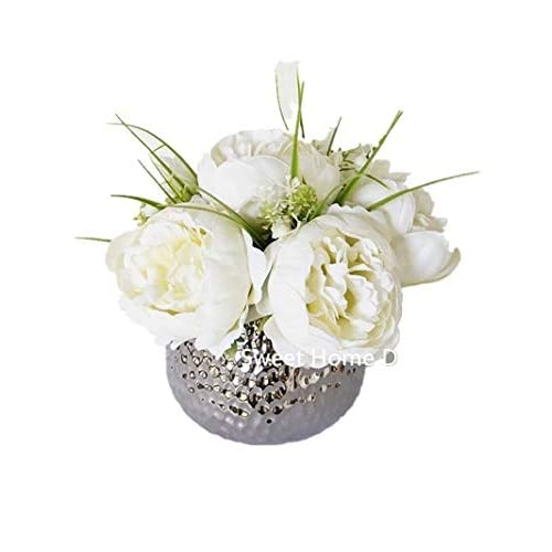 White Flower Arrangement Amazon