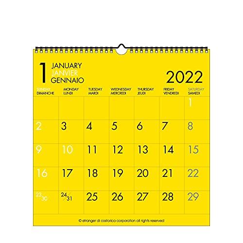 エトランジェディコスタリカ 2022年 カレンダー 壁掛け LP フーツラC 0102-CLS-A-02