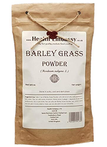 Health Embassy Gerst Poeder (Hordeum Vulgare L) Barley Grass Powder (200g)