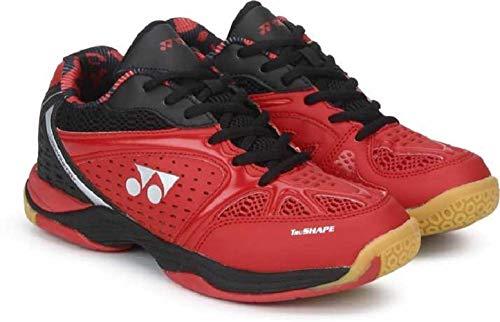 YONEX Men's Red & Black Badminton Shoes - 9 UK
