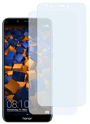 mumbi Schutzfolie kompatibel mit Huawei Honor 7C Folie klar, Bildschirmschutzfolie (2X)