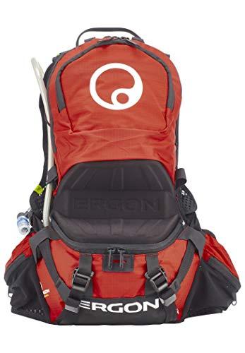Ergon BE2 Enduro Rucksack für Erwachsene, Unisex, Schwarz/Rot, S-L