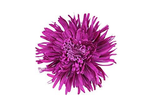 Flore de tela con broche 'Elena' (Buganvilla)