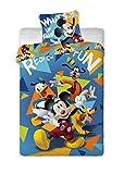 Disney Mickey Mouse 075Cama Infantil 140x 200cm + 70x 90cm