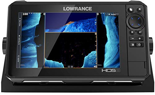 HDS-9 LIVE - 9-inch Fish Finder No Transducer Model is compatible with StructureScan 3D and Active Imaging Sonar. Smartphone integration.  Preloaded C-MAP US Enhanced mapping.