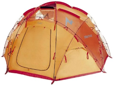 Marmot Lair 8-Persons Tent, Orange, One