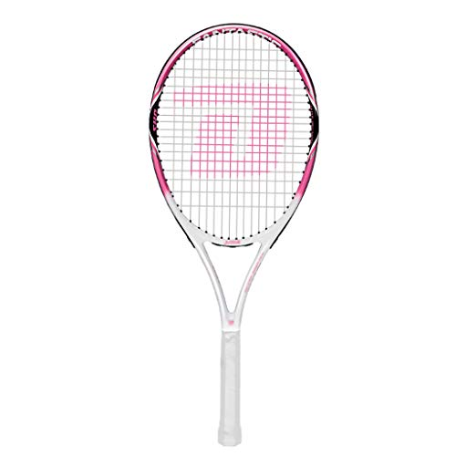 Raqueta de Tenis para Adultos Estilo Serie Rosa (27 Pulgadas Aproximadamente 68,5 cm) Raqueta de Tenis de área Grande 4 3/8 Pulgadas