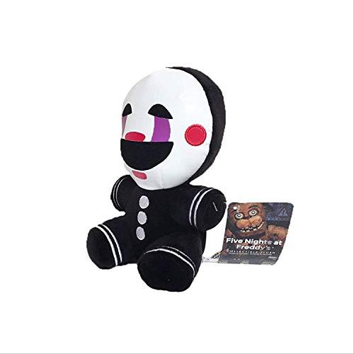 siyat Fünf Nächte in Freddys 4 FNAF Albtraum Marionette füllte Plüsch-Spielzeug 18Cm weiches Spielzeug-Puppe for Kinder Kinder Geschenke Chongxiang Jikasifa-UK