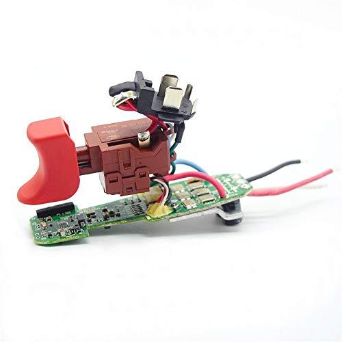 MQEIANG Interruptor de módulo electrónico para Bosch GSR 10.8V-EC TE GSR10.8V-EC GSR10.8V-EC HX GSR 12V-CE GSR12V-CE GSR12V-20HX2 1607233568
