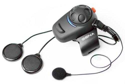 Sena SMH5-02 Bluetooth-Headset und Gegensprechanlage für Roller und Motorräder Set für Vollvisier-Helme - vom Hersteller eingestellt