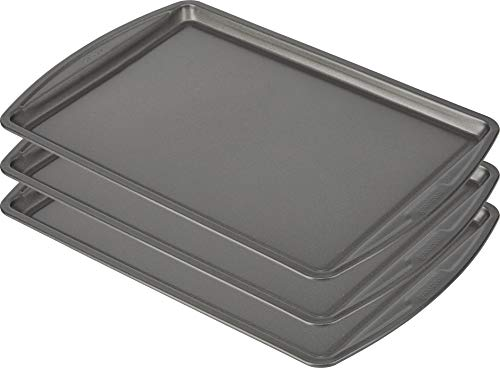 Goodcook Baking Sheet, 13 Inch x 9 Inch, Dark gray