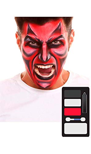 My Other Me Me-207062 Kit Maquillaje Adulto Demonio