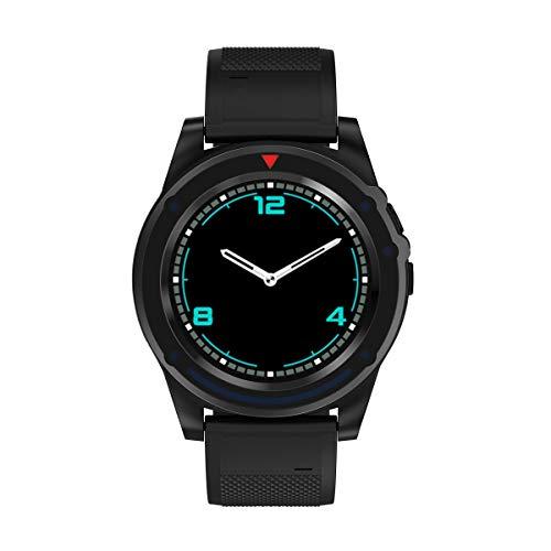 Bluetooth 3.0 Smart Sport Horloge Gekoppeld in Telefoonkaart Geheugenkaart met Camera