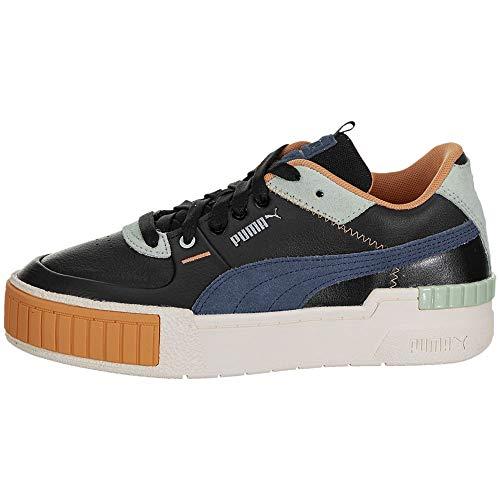 PUMA Cali - Zapatillas deportivas deportivas para mujer, (Puma Black/Marshmallow), 44 EU