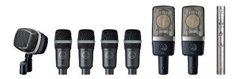 AKG Drumset Premium Reference - Juego de micrófono para batería