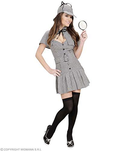 Widmann - CS927204/M - Costume miss detective taille m