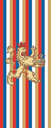 U24 Fahne Flagge Kurpfalz im Hochformat Premiumqualität 80 x 200 cm