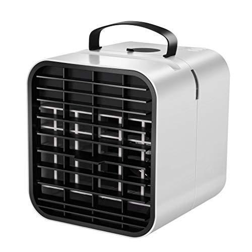 DFSDG Ventilador de aire refrigerador de espacio privado refrigerador portátil mini unidad de aire acondicionado para el hogar enfriamiento y viento calmante hogar