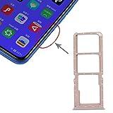 Reparación y repuestos Tarjeta SIM Tray + Tarjeta SIM Tray + Bandeja de Tarjetas Micro SD para OPPO A11X / A11 / A9 (2020) / A5 (2020) (Color : Gold)